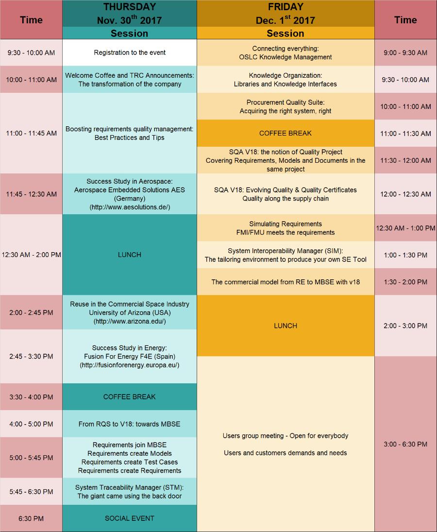 agenda trc forum 2017